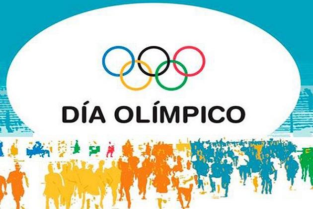 Jornada por el Día Olímpico.