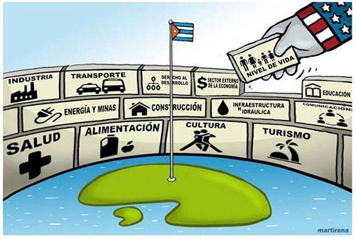 Bloqueo de Estados Unidos afecta al sector privado en Cuba
