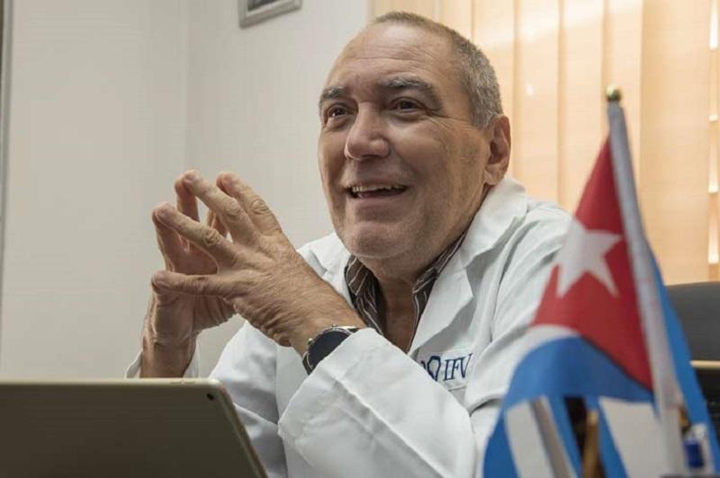 Vicente Vérez Bencomo, director General del Instituto Finlay de Vacunas.