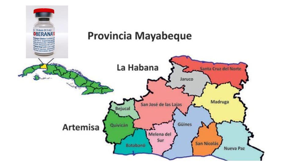 A buen ritmo intervención sanitaria masiva con Soberana 02 en Mayabeque.