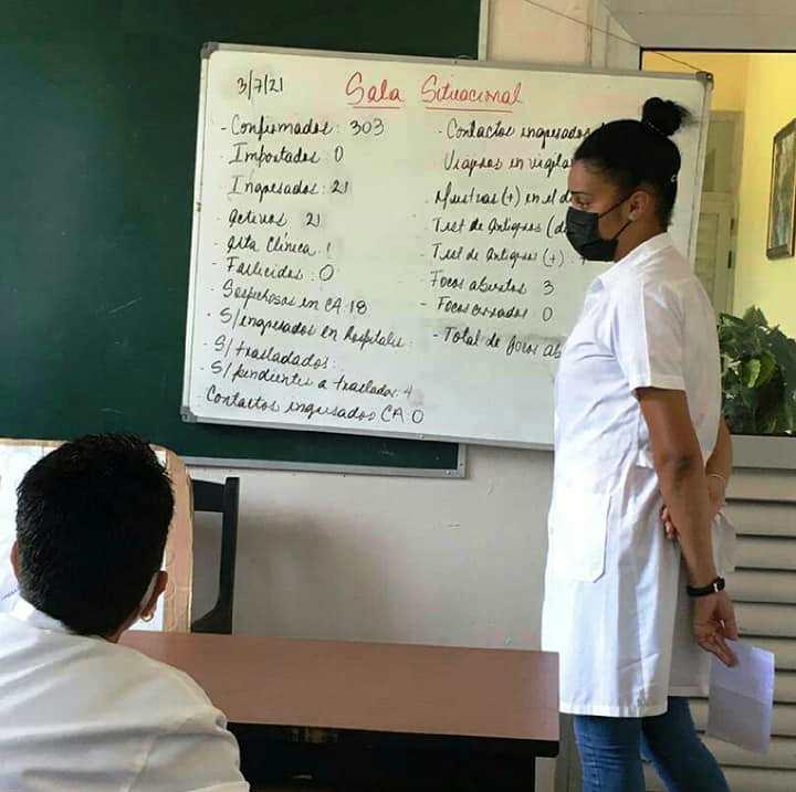 Zaily Gala Caraballo, doctora de Jaruco.