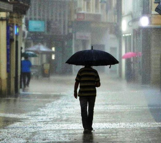 Algunas lluvias en el Occidente y en el interior del resto del país