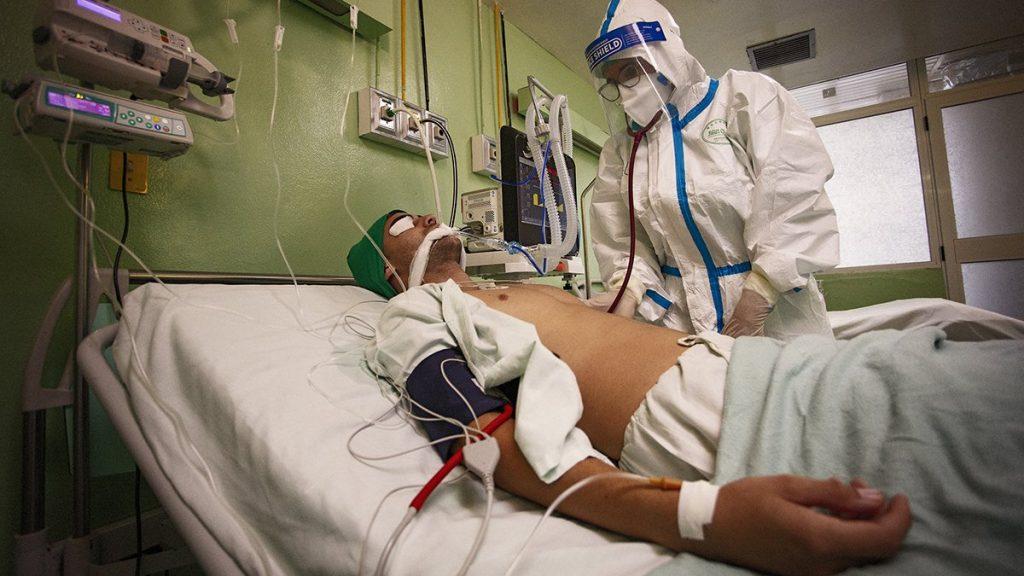 Cuba marcó la pasada semana su récord de pacientes en salas de terapia intensiva.