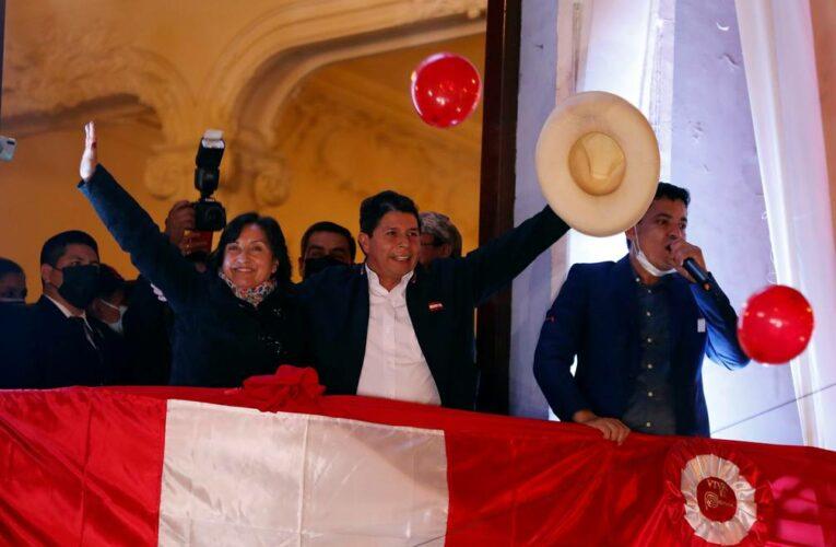 Nuevo presidente de Perú asumirá el cargo próximamente