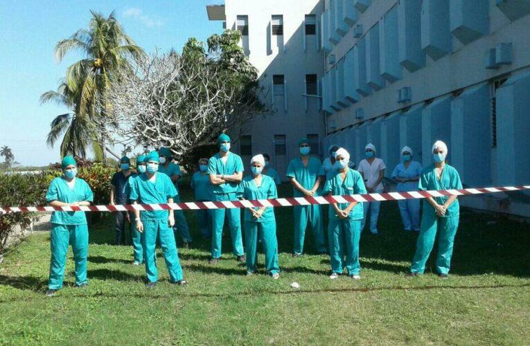 Reciben en Universidad de Matanzas insumos médicos, aseo y alimentos donados por estudiantes de Mayabeque