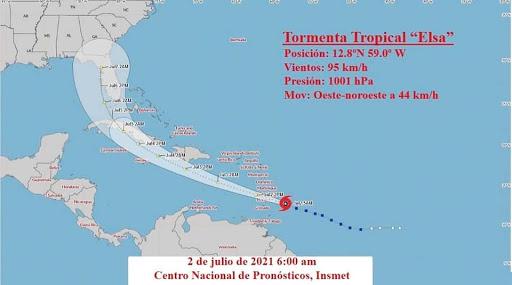 Cuba se alista para minimizar daños del huracán Elsa