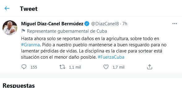 Califica Díaz-Canel la disciplina como clave frente a Elsa