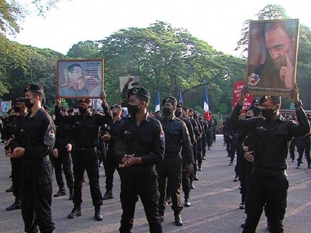 Brigada Especial Nacional del Ministerio de Interior repudia injerencia de los Estados Unidos.