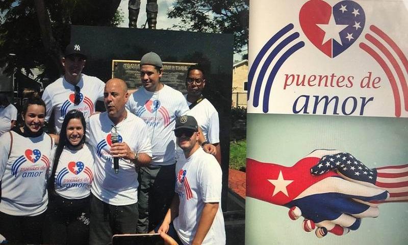 Puentes de Amor con Cuba en Washington.