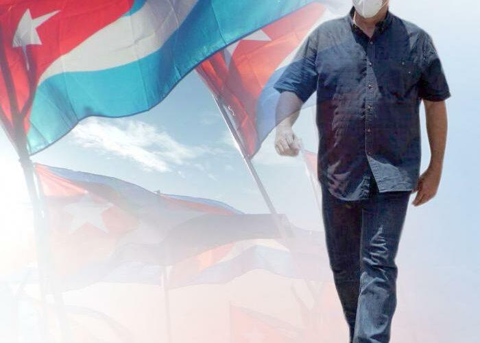 Cuba de pie, en Revolución