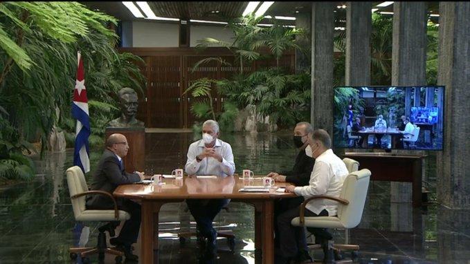Gobierno anuncia nuevas medidas y analiza situación actual en Cuba
