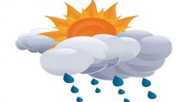 Algunas lluvias en la tarde en el occidente y calor
