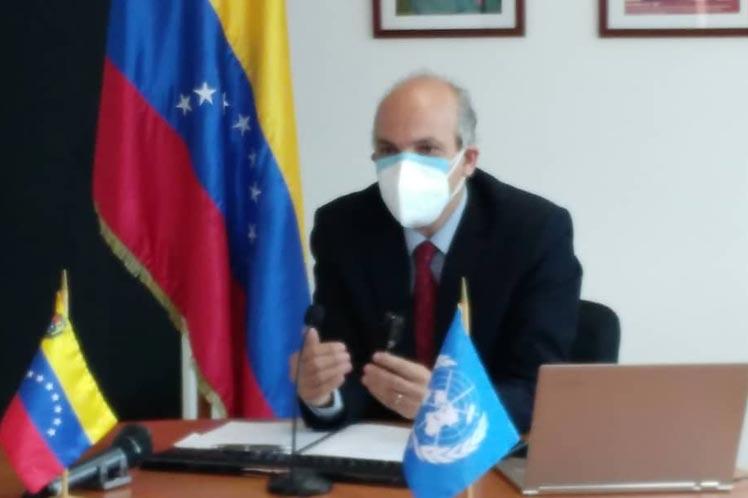 Vicepresidente venezolano expone matriz manejada por  Estados Unidos en Cuba