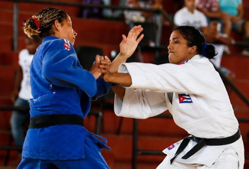 Anaily, a merit judoka