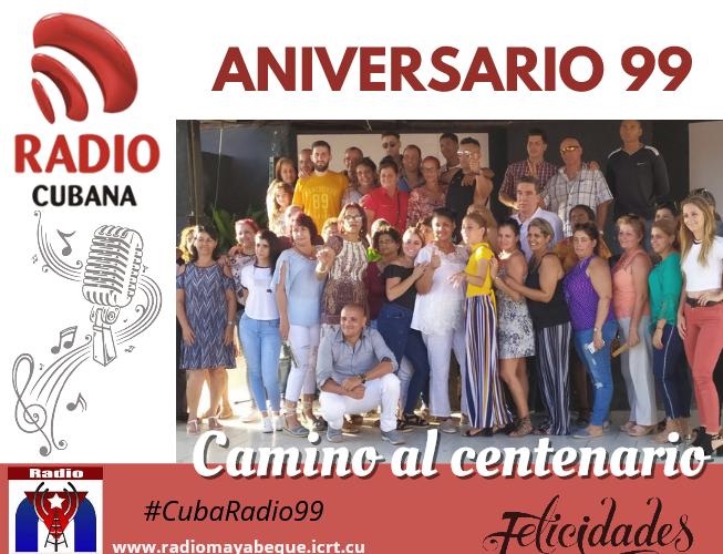 Aniversario de la Radio Cubana