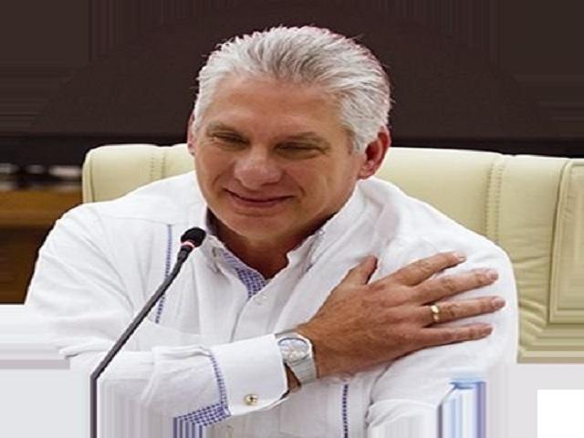 President Miguel Díaz-Canel Congratulates Cuban Women