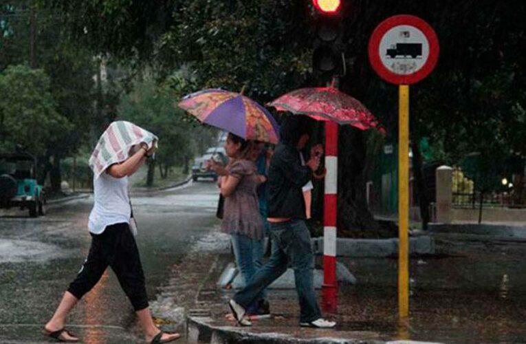 Algunas lluvias en la tarde