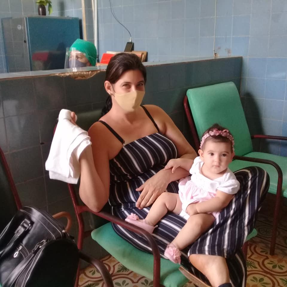 Health intervention in Melena del Sur.