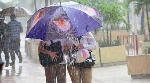 Algunas lluvias en Occidente