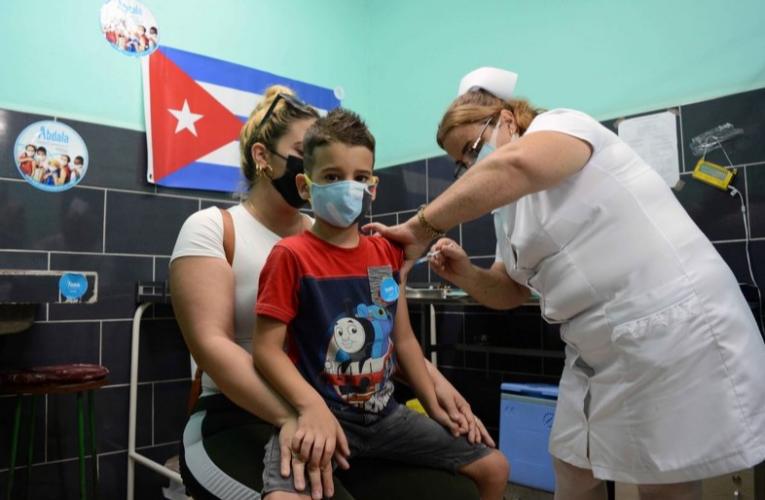 Vacunación anti-COVID-19 en niños y adolescentes en Cuba no es obligatoria