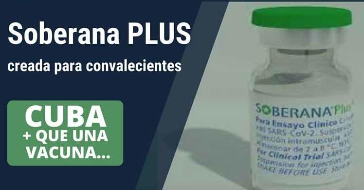 Vacunación a convalecientes con Soberana Plus
