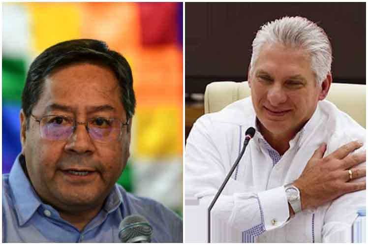 Presidente de Cuba agradece solidaridad de Bolivia contra bloqueo