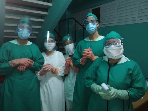 Profesionales de la salud, frente a la Covid-19 (+ Audio)