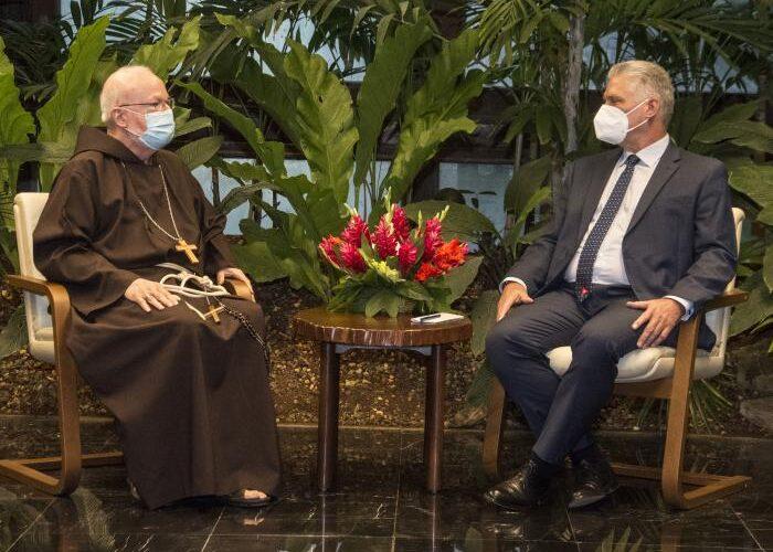 Recibió Díaz-Canel a su Eminencia el Cardenal estadounidense Sean Patrick O´Malley