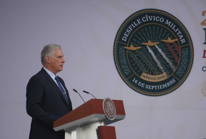 Díaz-Canel: México cuenta como uno de los hermanos más entrañables para Cuba