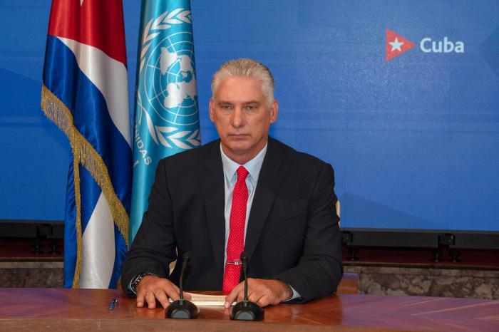 Intervención en la Cumbre de la Organización de Naciones Unidas sobre los Sistemas Alimentarios, desde el Palacio de la Revolución, el 23 de septiembre de 2021
