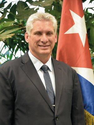 Presidente cubano realiza visita a México