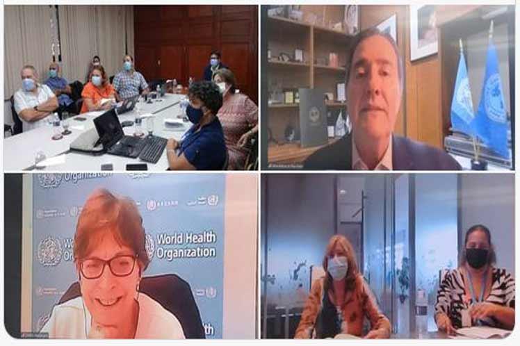 Especialistas de Cuba y de la Organización Mundial y Panamericana de la Salud calificaron hoy de excelente y fructífera la reunión para el proceso de reconocimiento internacional de las vacunas antiCovid-19 de este pais.