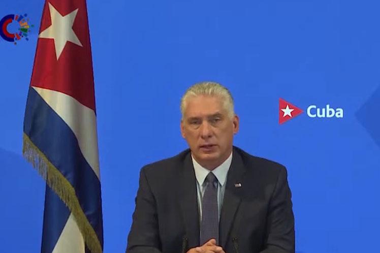 Presidente de Cuba defendió en ONU un mundo más justo y equitativo