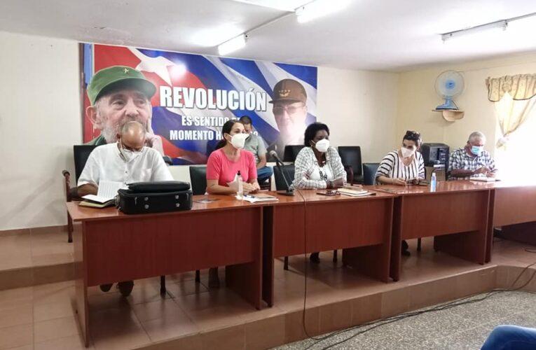 Intercambiaron artistas y autoridades de Mayabeque