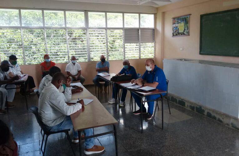 Intercambia vicepresidente del INDER con directivos y trabajadores del deporte en Mayabeque (+ Audio)
