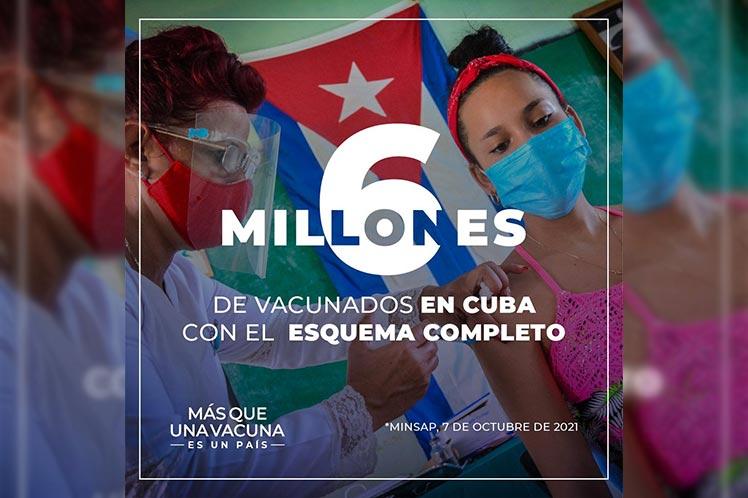 Presidente de Cuba destaca control epidemiológico en la isla
