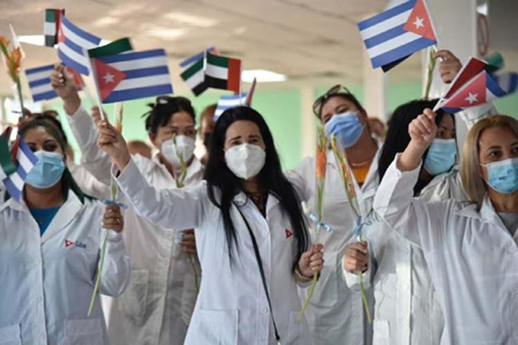 Califica presidente Díaz-Canel de meritoria misión médica de Cuba
